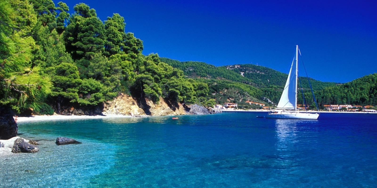 Northern Sporades, the most sparkling Aegean sea waters