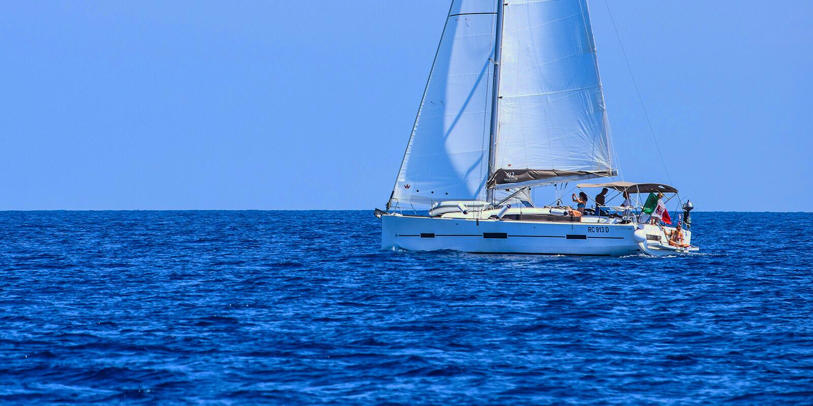 Hire a whole boat with skipper in the Aeolian Islands