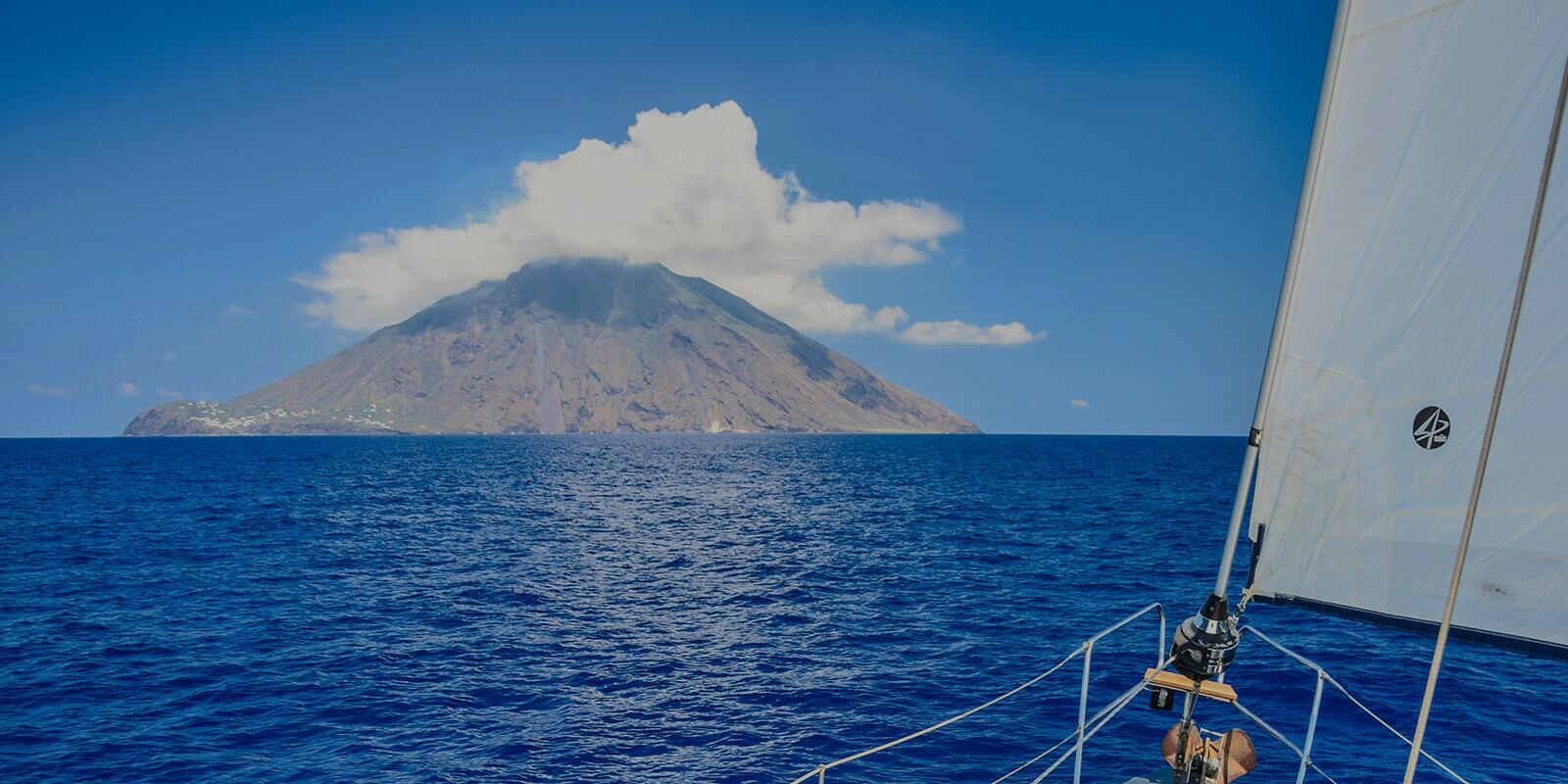 Sailing holidays in Aeolian Islands with a local skipper