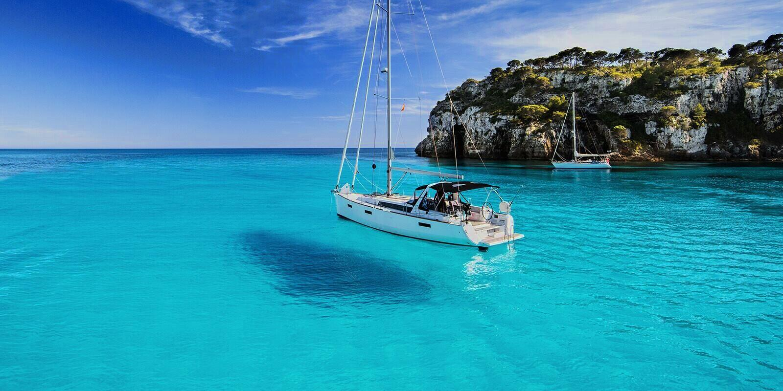 Crewed sailing holiday in the Balearic Islands