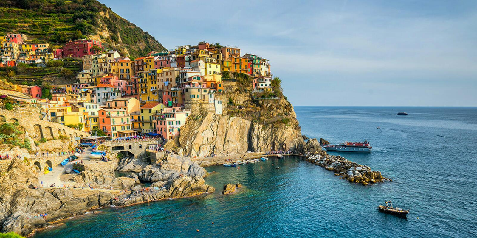 Sailing holidays in Liguria and Cinque Terre