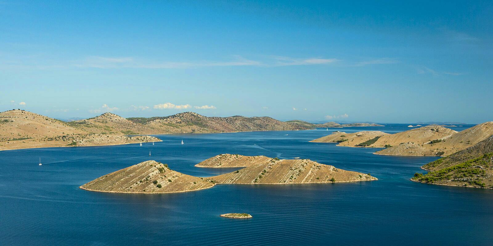 Sailing holidays in the Kornati Islands